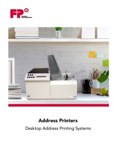 Address Printers Brochure Cover