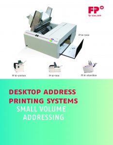 Address Printer Brochure